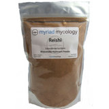 Reishi Mushrooms (Ling Zhi) Myriad Mycology Mushroom Powder 1 lb