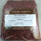Lycium / Wolfberry Fruit (You Ji Gou Qi Zi) Nuherbs Organic, Whole Form 1 lb