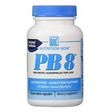 PB 8 Pro-Biotic Acidophilus For Life by Nutrition Now 120 capsules
