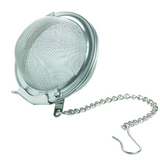 tea strainer ball, large, with locking closure