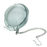 tea strainer ball, large, with locking closure