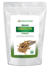 Z Natural Foods Organic Cordyceps Powder 1 lb