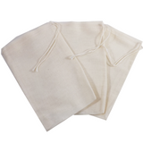"4"" x 6"" Muslin Culinary Bags.  Use for reusable teabags, spice bags, sachets, herbal baths, Herbal foot soaks, gift bags, party favor bags and crafts."