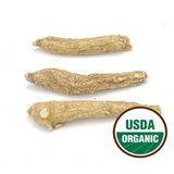 Organic American White Ginseng Roots 4-Year - 1/4 pound