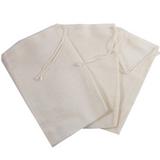 """4' X 6"""" Culinary Muslin Cooking Bag, Reusable Tea bags"""