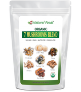 Seven Blend Organic Mushroom Powder, Z Natural foods