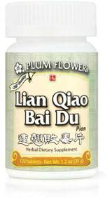 Bottle of Lian Qiao Bai Du