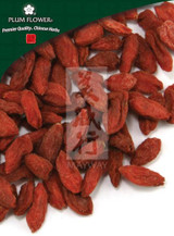 Organic Goji Berry - Gou Qi Zi - Lycium Wolfberry Fruit - Plum Flower, whole form 1 lb