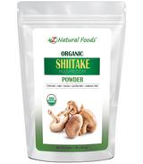 Shiitake Organic Mushroom Powder, Z Natural Foods, 1 lb.