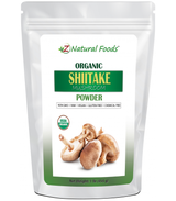 Shiitake Organic Mushroom Powder, Z Natural Foods, 1 lb.