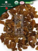 Organic Asparagus Tuber Root (Organic Tian Men Dong) - Cut Form 1 lb - Plum Flower Brand