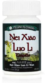 Nei Xiao Luo Li Teapills - Plum Flower, 200 teapills