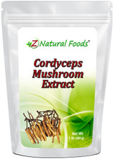 Cordyceps Mushroom Extract Powder 1lb - Z Naturals