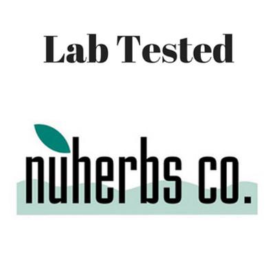 NuHerbs Lab Tested