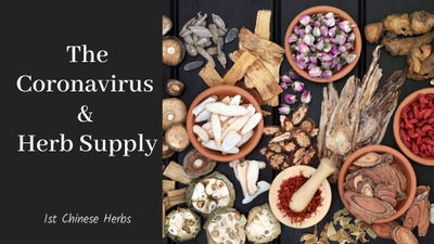 Effects Of The Coronavirus On Herb Supply