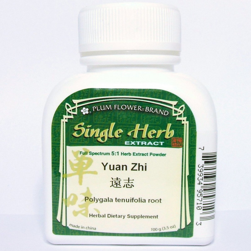 Polygala Root (Yuan Zhi) - Concentrate 100 Gram Bottle - Plum Flower