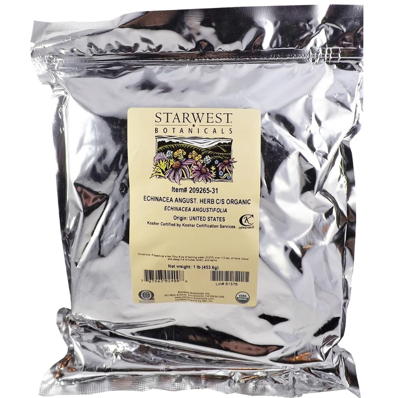 Organic Echinacea Angustifolia Herb