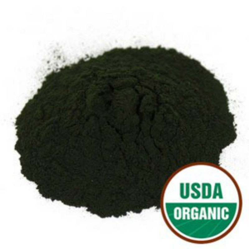 Chlorella Certified Organic Powder Cracked Cell Walls 1 lb