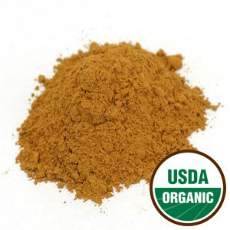 Organic Cinnamon Powder, Cinnamomum burmanii, 1lb Powder