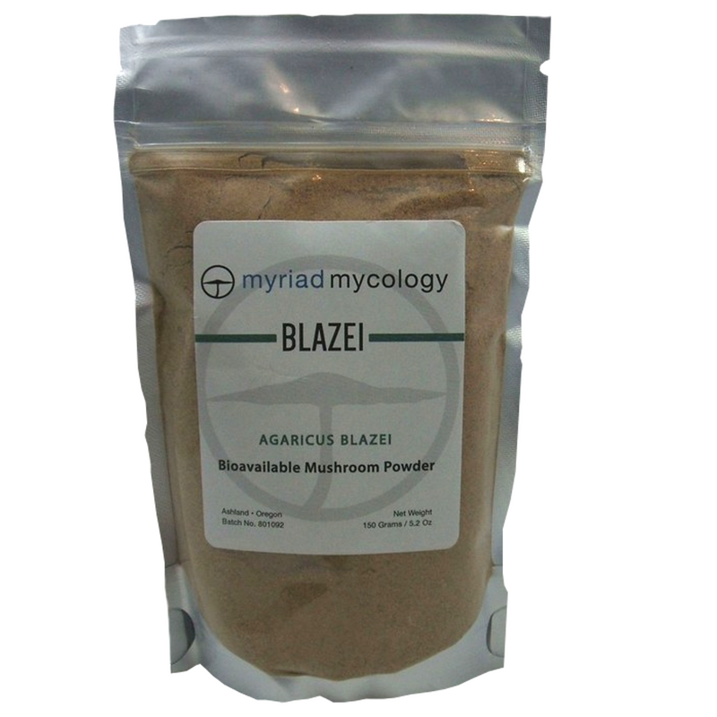 Blazei Agaricus Blazei Myriad Mycology Mushroom Powder 5.2 oz
