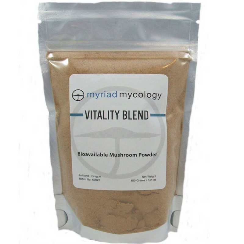 Vitality Blend -Ten Species Myriad Mycology Mushroom Powder 5.2 oz