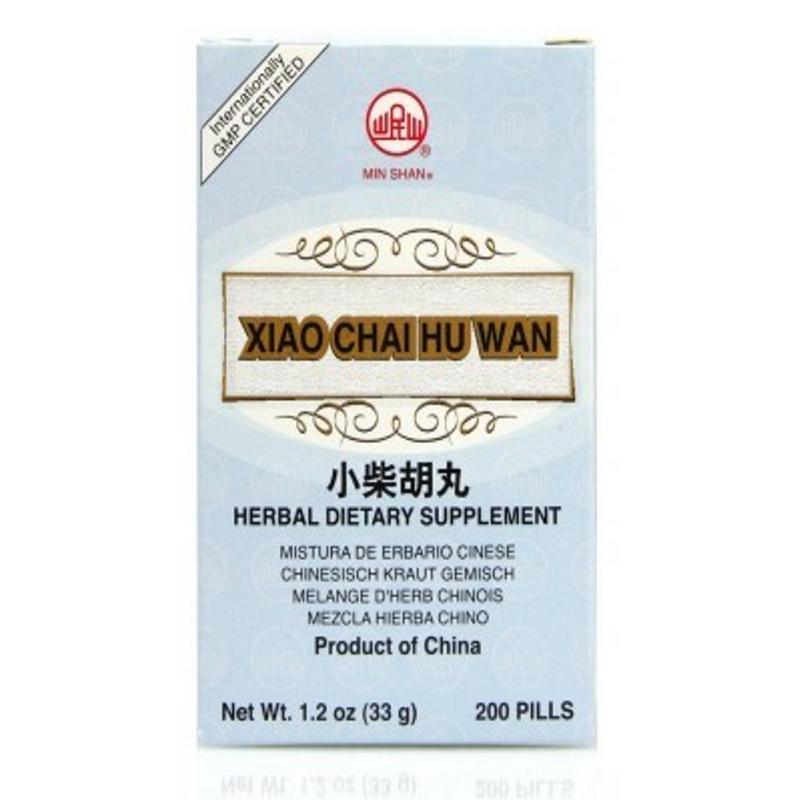 Minor Bupleurum Teapills (Xiao Chai Hu Wan) Min Shan Teapills 200 ct
