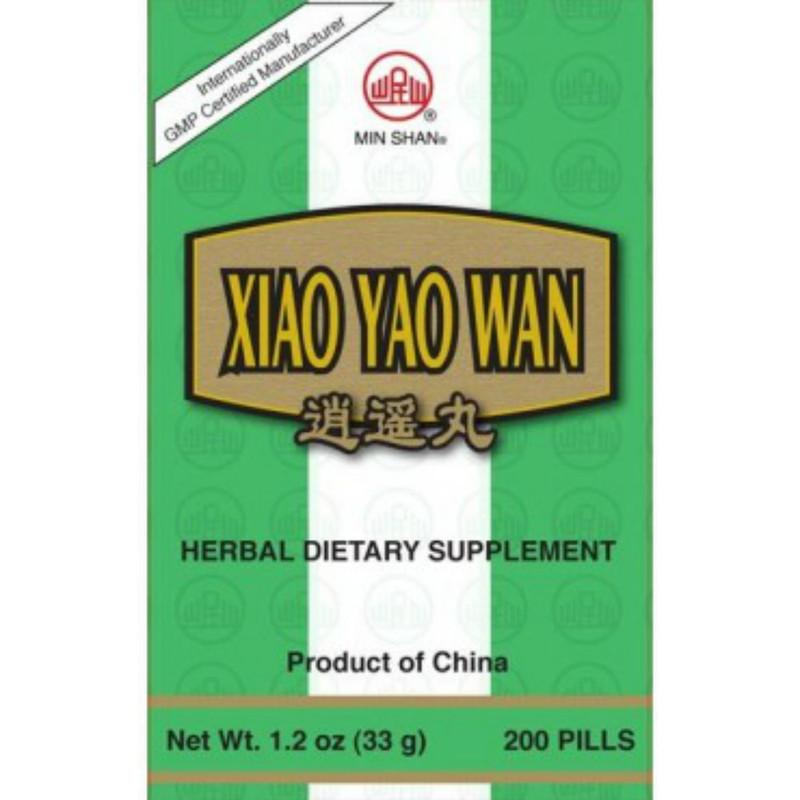 Free & Easy Wanderer Teapills  Xiao Yao Wan Min Shan Teapills 200 ct