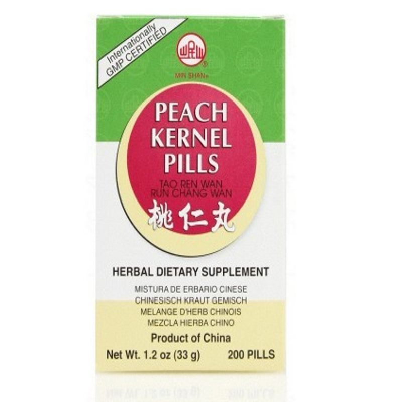 Peach Kernel Teapills (Tao Ren Wan) Min Shan Teapills 200 ct
