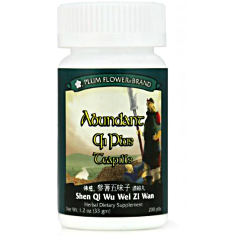Abundant Qi Plus Teapills (Shen Qi Wu Wei Zi Wan) Plum Flower  200 ct