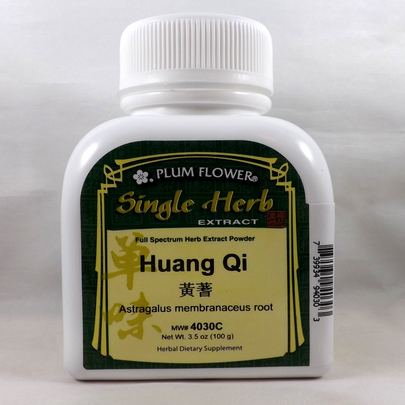 Astragalus Root Huang Qi Astragalus membranaceus root Concentrate Form 100 Gram Bottle - Plum Flower Brand