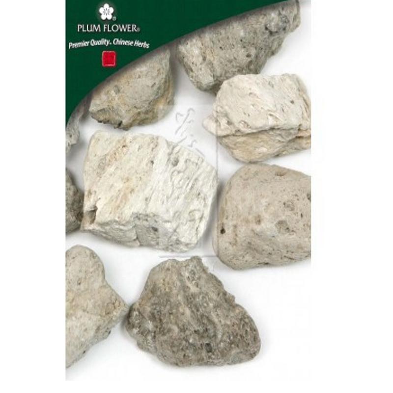 Pumice Mineral (Fu Hai Shi) - Cut Form 1 lb - Plum Flower Brand