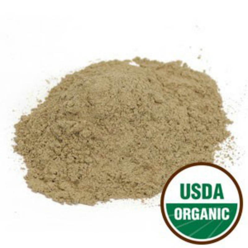 Comfrey Root - Organic Powder Form 1 lb. - Starwest Botanicals Brand (209230-51) Highly prized for its ability to accelerating healing