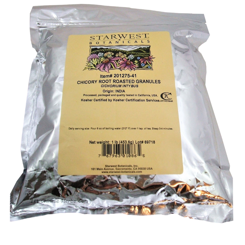 Chicory Root Roasted Granules
