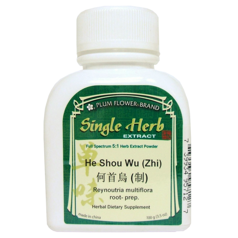 Fo-Ti Root (He Shou Wu) Plum Flower, Concentrated Powder 100 grams