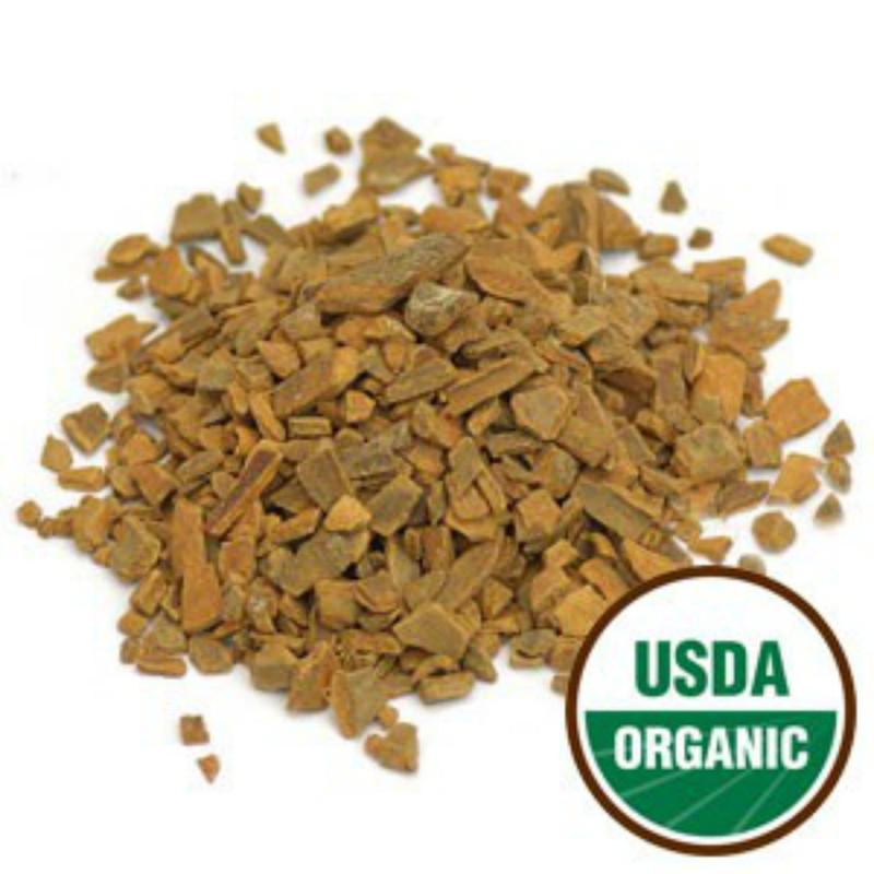 "Cinnamon Bark-Pieces 1/4"" Cut (Rou Gui Pi) 1 lb. Organic - Starwest (209785-31)"