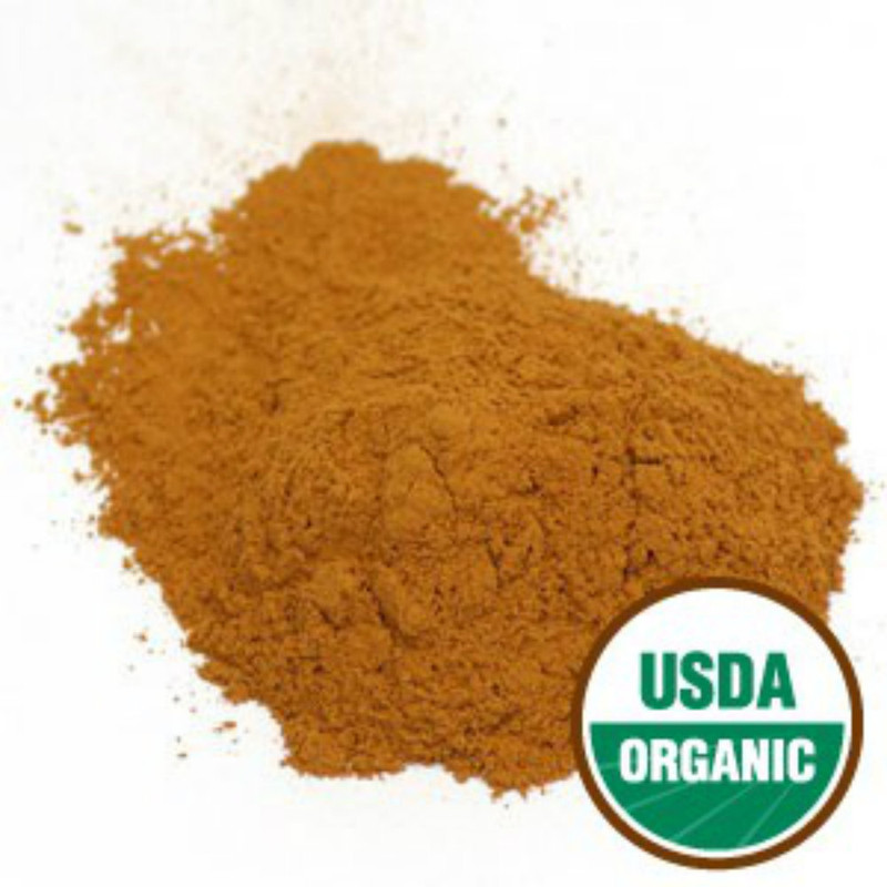 Ceylon Cinnamon Powder  Certified Organic 1 pound size bag True Cinnamon