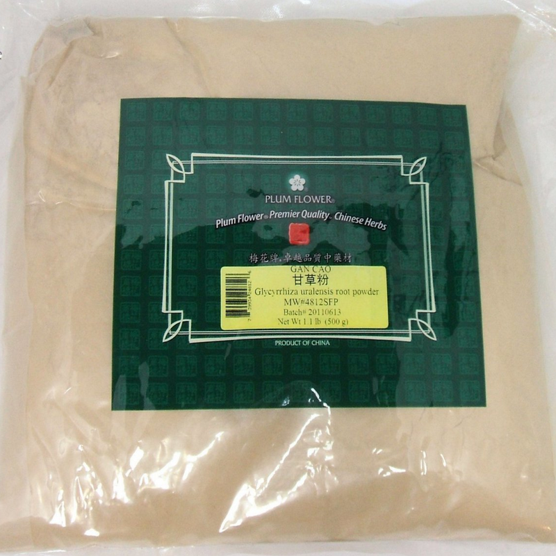 Licorice Root Powder (Gan Cao) Plum Flower Powder 1lb