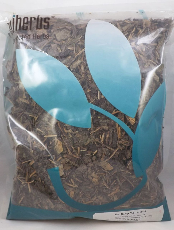 Isatis / Woad Leaf (Da Qing Ye) - Lab Tested Cut 1 lb