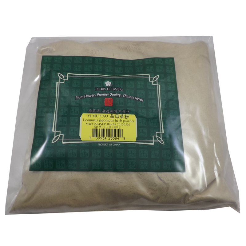 Yi Mu Cao Chinese Motherwort Powder