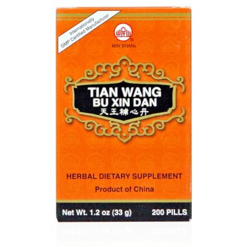 Tian Wang Bu Xin Teapills Other Names:   Tian Wang Pu Hsin Tan, Heavenly King Tonify the Heart Special Pills