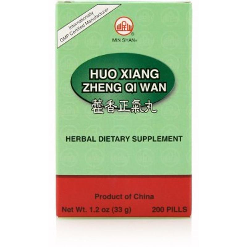 Huo Xiang Zheng Qi Teapills