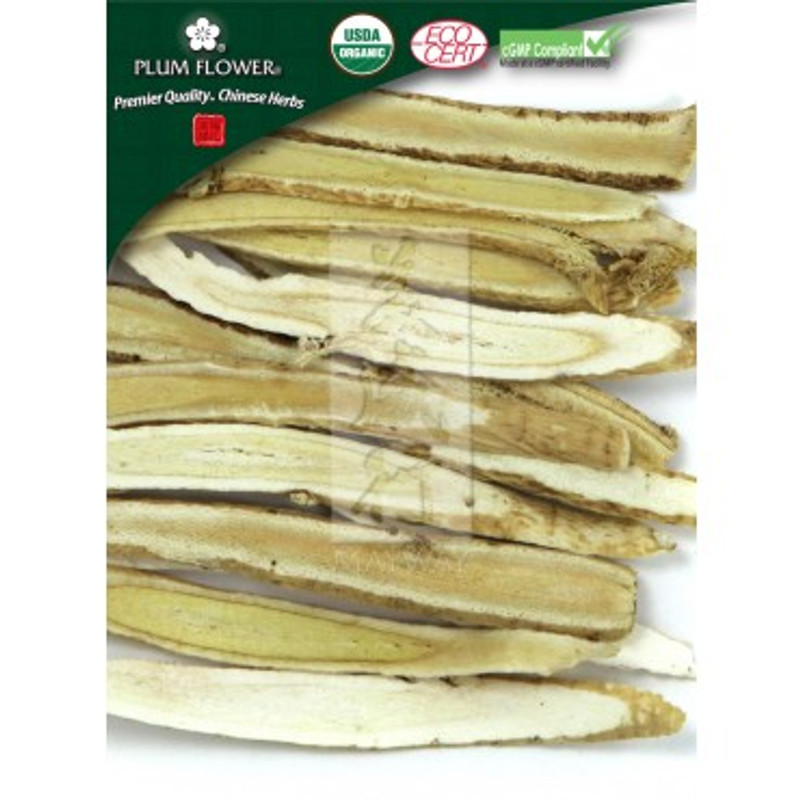 Astragulas Root Certified Organic in Sliced form