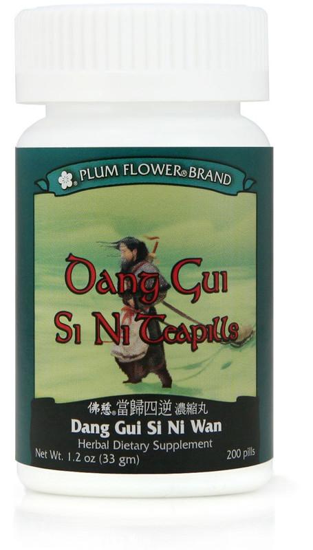 Bottle of Angelica Si Ni teapills