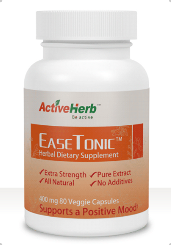 Front of the EaseTonic herbal supplement