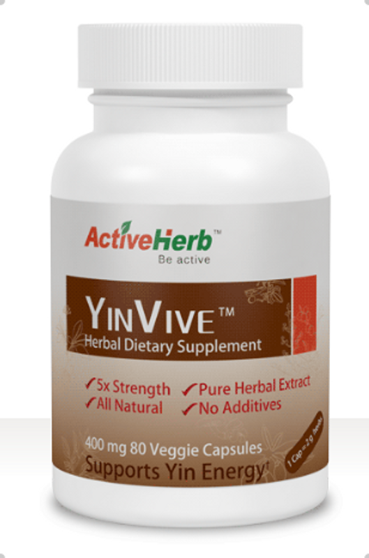 Herbal Dietary Supplement Yin Vive
