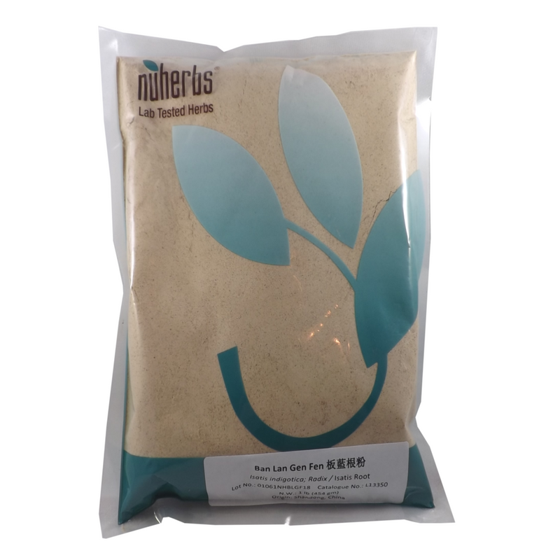 Ban Lan Gen Isatis Root Lab Tested Powder Nuherbs