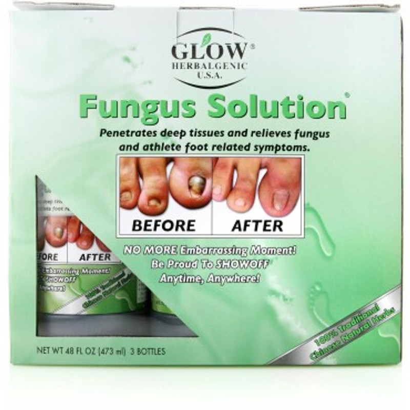Glow Herbalgenic Fungus Solution