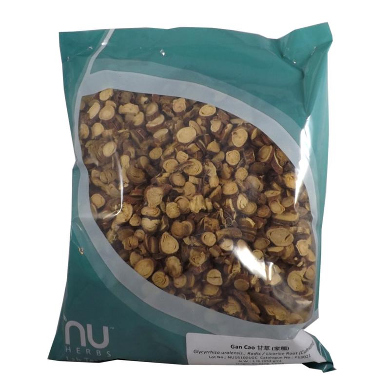 Gan Cao Glycyrrhiz Uralensis Radix Nuherbs Lab Tested Cut Herbs