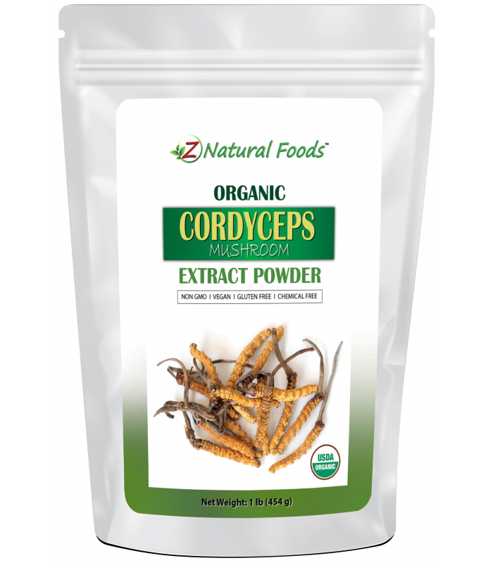 Organic Cordyceps Extract Powder 1 lb Possible Different Packaging