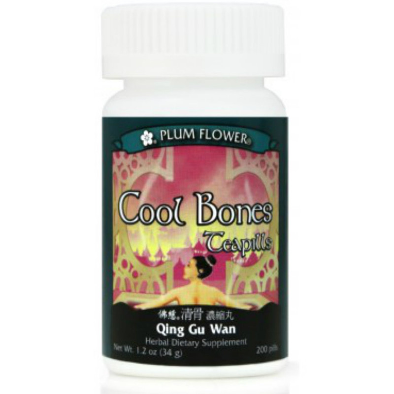Cool Bones Teapills (Qing Gu Wan) - 200 Pills/Bottle - Plum Flower Brand